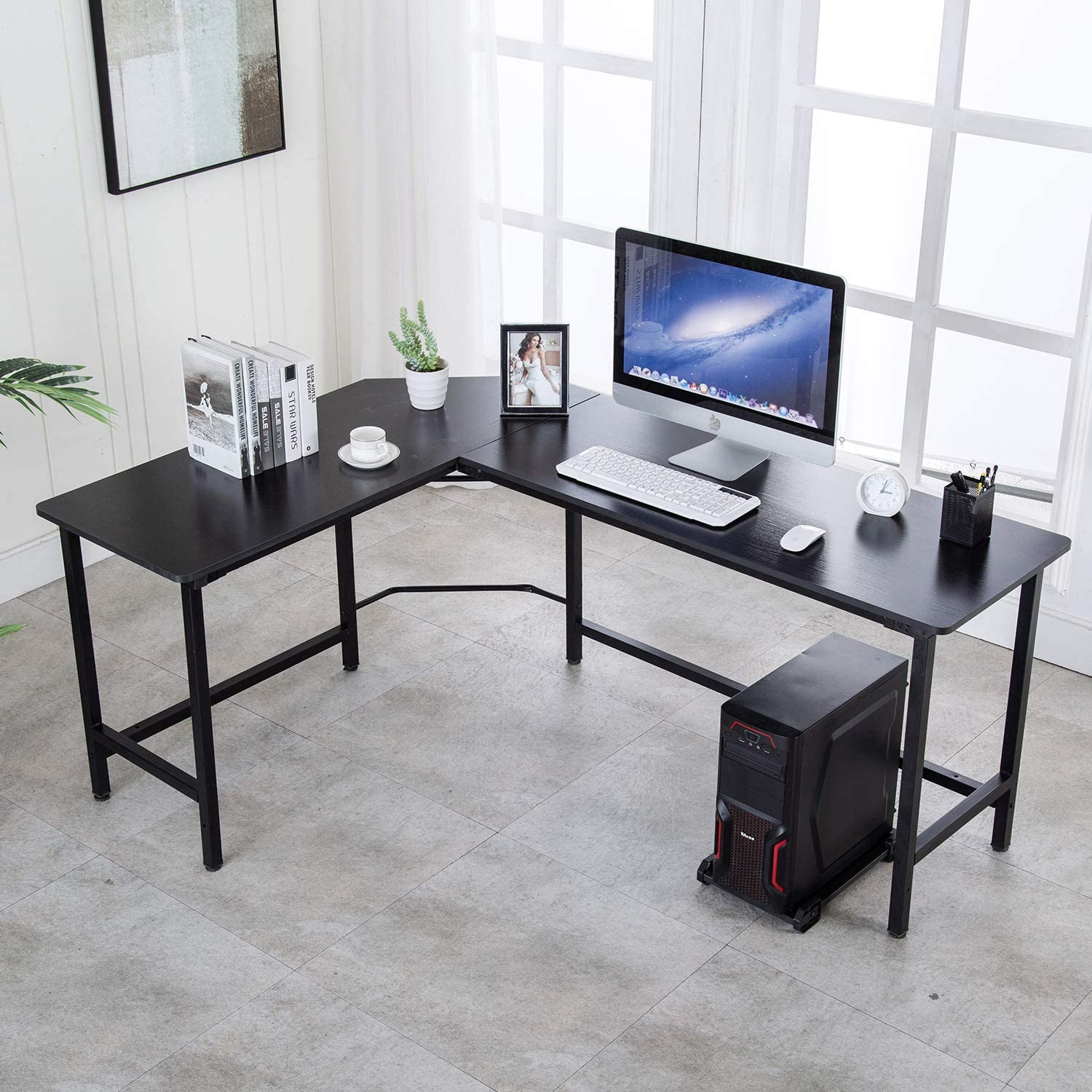 Modern Minimalilst L-Shaped Desk