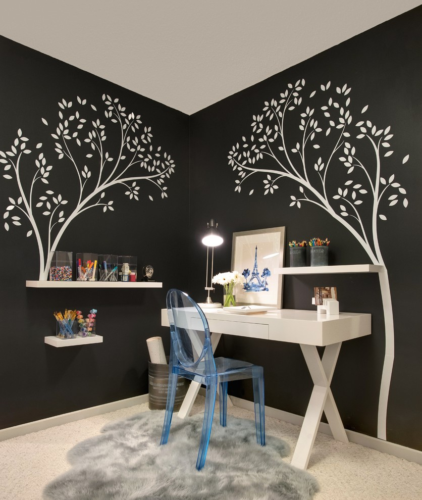 MIx With Decor - Home Office Organizing Ideas